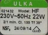 étiquette signalitique pompe à eau ceme ulka