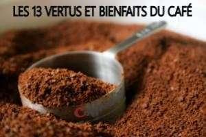 les 13 vertus et bienfaits du café sur notre organisme