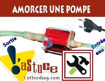 amorcer une pompe a eau ulka apres un désamorçage ou purge
