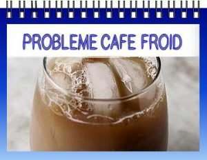 probleme machine a café froid