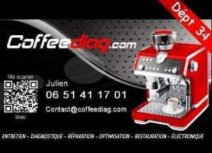 Julien, réparateur de machine expresso à Montpellier 34