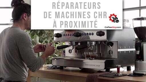 Ou trouver un réparateur de machine à café CHR ?
