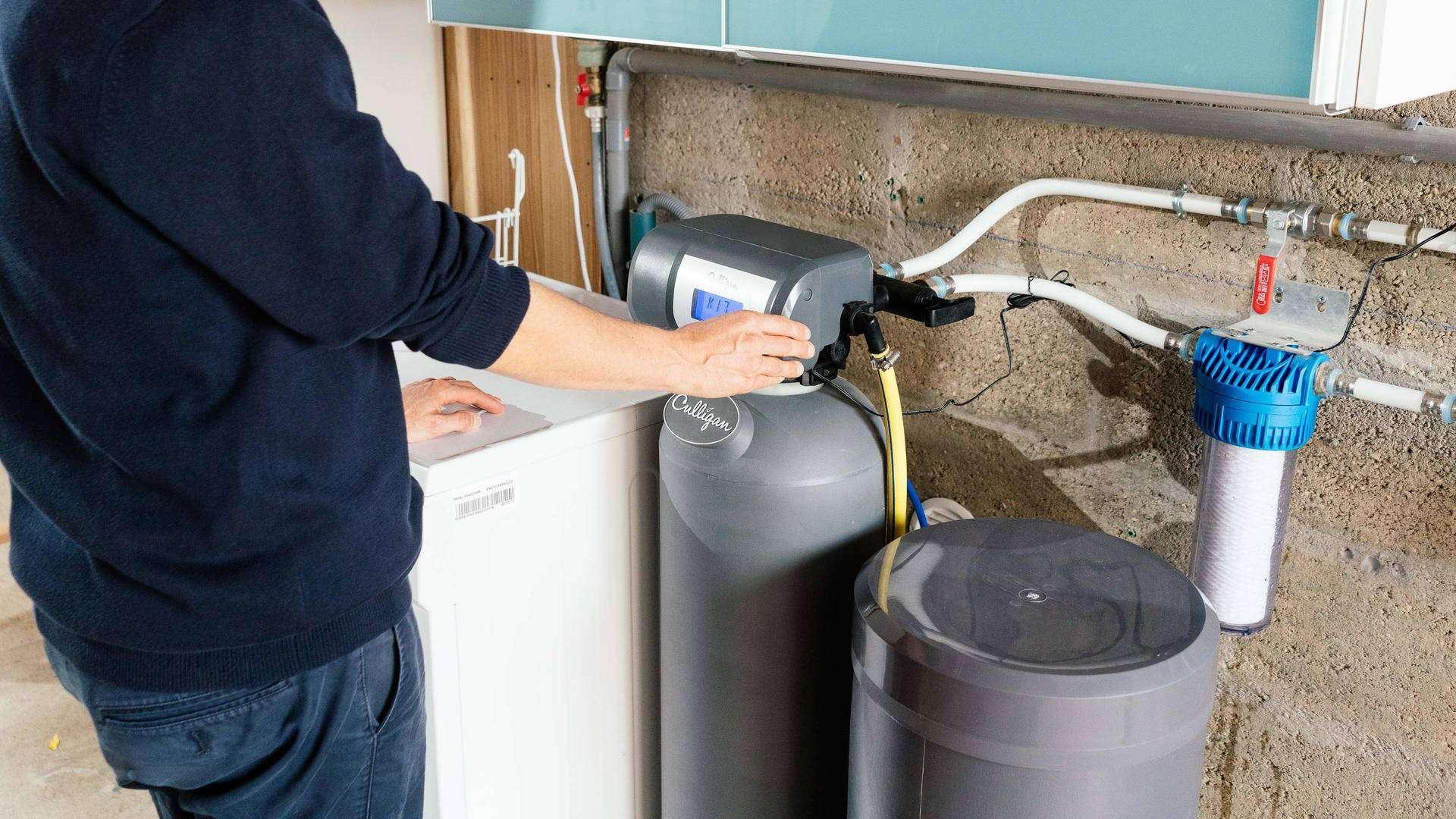 système de filtration d'eau pour le café, adoucisseur maison
