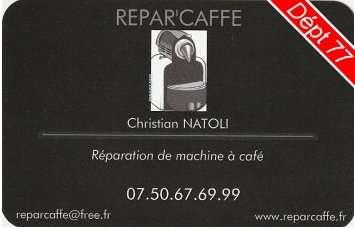 Réparation de machine à café expresso en île de France département 77