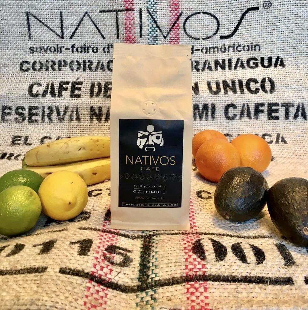 Café de colombie 100% arabica de qualité